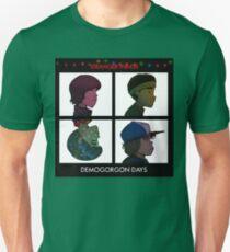Stranger Things - Gorillaz Album Cover Style Unisex T-Shirt