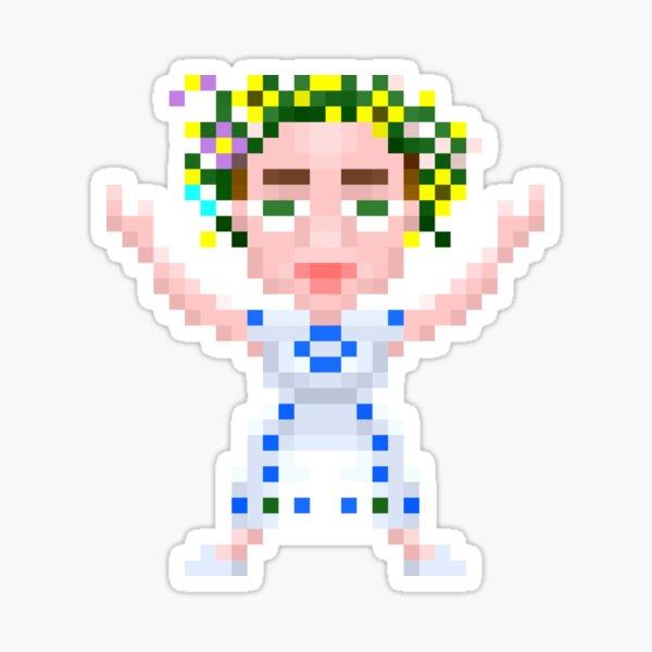 Dani dancing Sticker