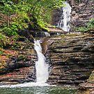 Deckertown Falls - Montour Falls, New york by Kenneth Keifer