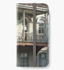 Old City, old house iPhone Wallet/Case/Skin