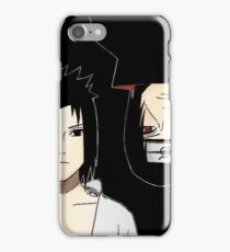 Sasuke & Itachi  iPhone Case/Skin