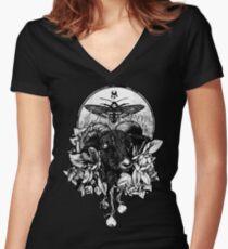 Krogl Women's Fitted V-Neck T-Shirt