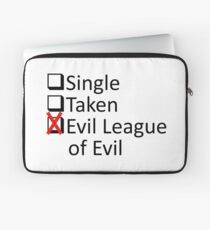 Evil League Of Evil Member Laptop Sleeve