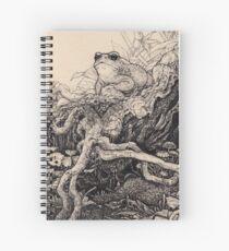 Queen Hieronymus - Lines Spiral Notebook