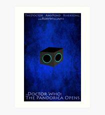 Doctor Who: The Pandorica Opens Art Print