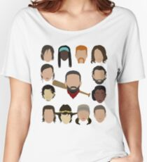 Who did Negan kill? Women's Relaxed Fit T-Shirt