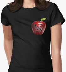 growing apples from apples Women's Fitted T-Shirt