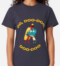 Hot Dog Guy and Gumball Awkwardly Hugging Classic T-Shirt