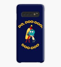 Hot Dog Guy and Gumball Awkwardly Hugging Case/Skin for Samsung Galaxy