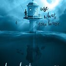 Encouragement - Start where you are (lighthouse) by garigots
