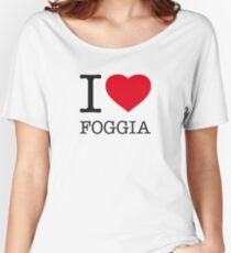 I ♥ FOGGIA Women's Relaxed Fit T-Shirt