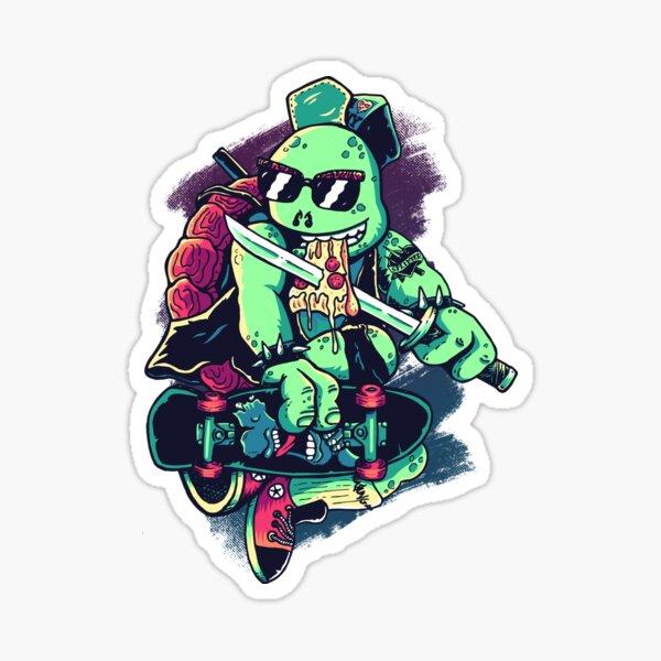 Cowabunga Or Die! Sticker