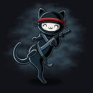 Ninja Cat by Stephanie Whitcomb