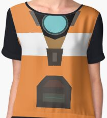 Claptrap Women's Chiffon Top