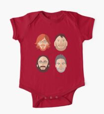 Trey, Fish, Mike, Page as Vector Characters One Piece - Short Sleeve