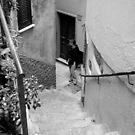 street stair by tinncity