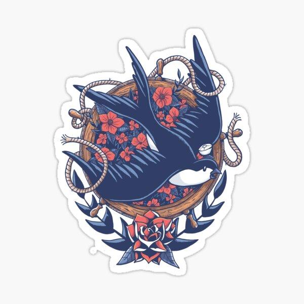 Swallow Sailor Tattoo Sticker