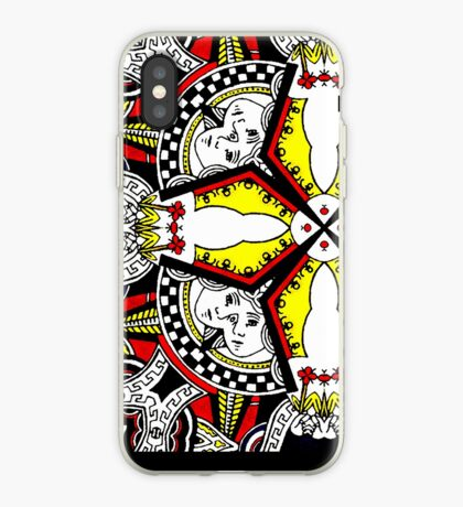 siamese queens iPhone Case