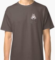 Squirrel in my pocket! Classic T-Shirt