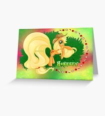 Equestria Elements - The Honesty Greeting Card
