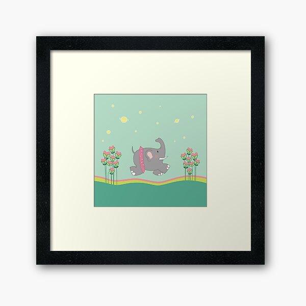 Elephantine Framed Art Print