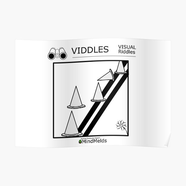 The Viddles Series - Construction Poster
