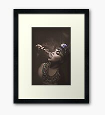 Smokes Framed Print