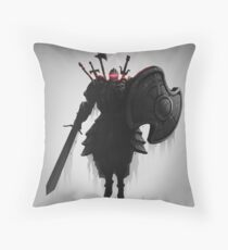 THE PURSUER Throw Pillow