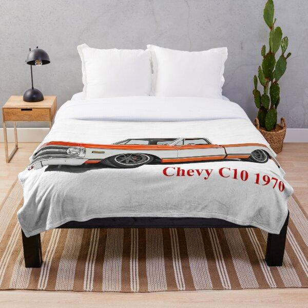 Chevy C10 1970 Throw Blanket