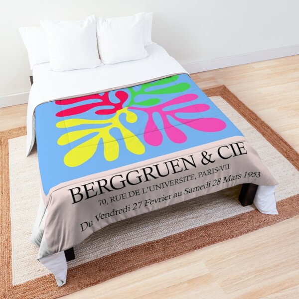 Matisse Squiggle Print Comforter