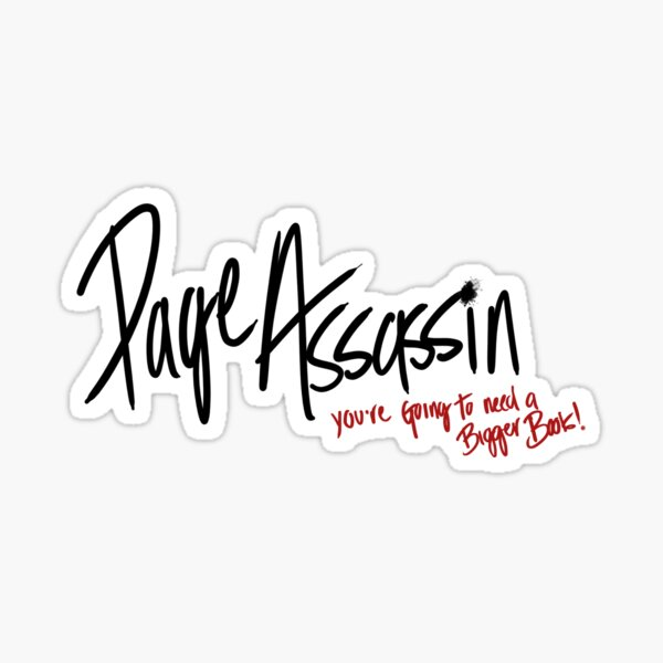 Page Assassin Sticker