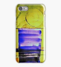 Abstract View on the sea iPhone Case/Skin