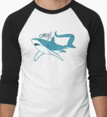 Thresher shark - OMG! Men's Baseball ¾ T-Shirt