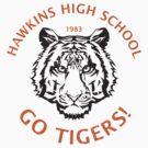 Hawkins High School 1983 (aged look) by KRDesign