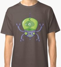 Brainbot Robot with Brain Classic T-Shirt