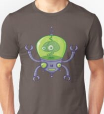 Brainbot Robot with Brain Unisex T-Shirt
