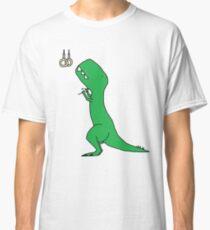 T-Rex Olympic Rings Classic T-Shirt