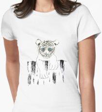 Little tiger Women's Fitted T-Shirt