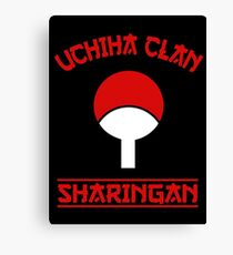 Uchiha Clan Canvas Print