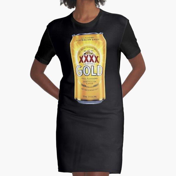 XXXX Gold XXXX Bitter Graphic T-Shirt Dress