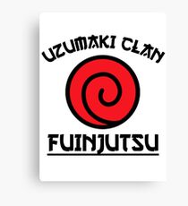 Uzumaki Clan Canvas Print