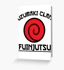Uzumaki Clan Greeting Card