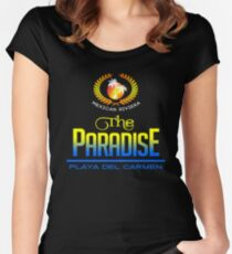 Playa del Carmen, Mexican Riviera Women's Fitted Scoop T-Shirt