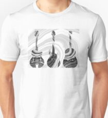 Marbled Music Art - Three Guitars - Sharon Cummings Unisex T-Shirt