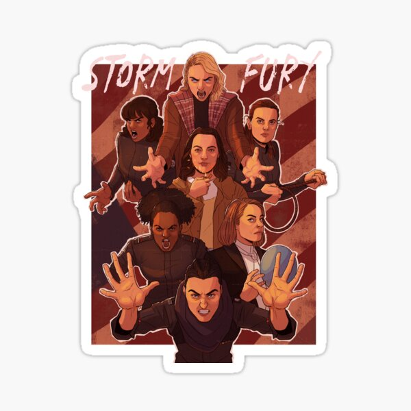 Storm and Fury Sticker