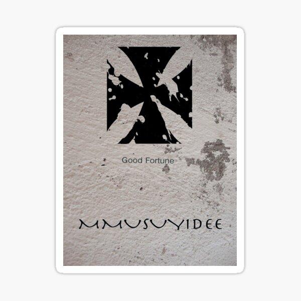 Mmusuyidee Adinkra Symbol Sticker