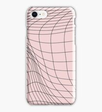 wave graph iPhone Case/Skin