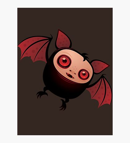 Red Eye the Vampire Bat Boy Photographic Print