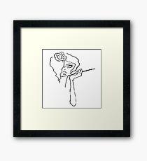°cigarette Framed Print