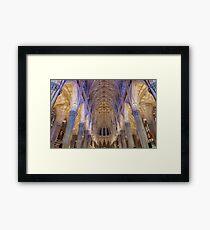 Inside St. Patrick Cathedeal Framed Print